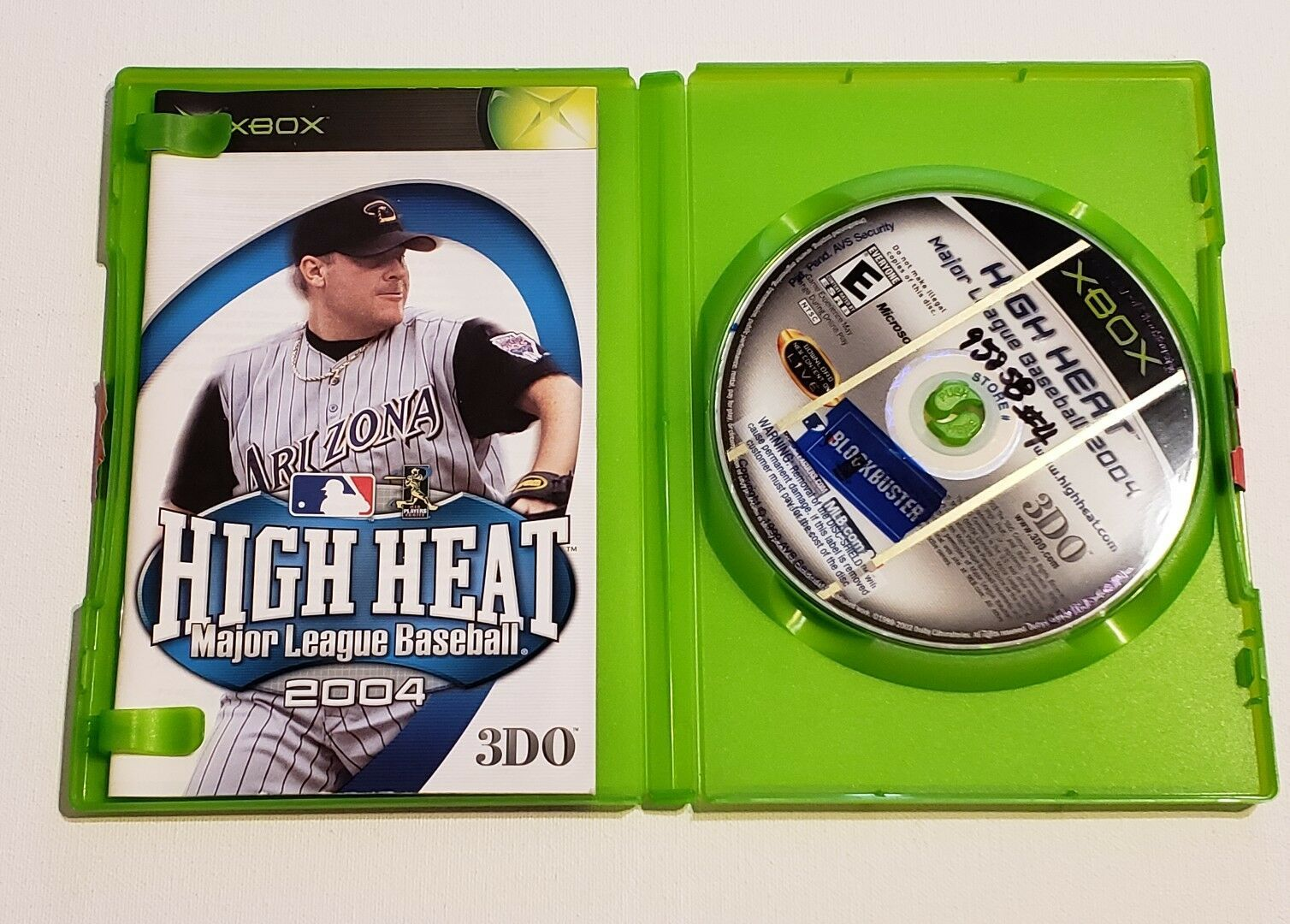 MICROSOFT XBOX - Lot of 3 Sport Games MLB 2004 Nascar Heat 2002 MX World Tour image 7