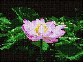 pepita Lotus Needlepoint Kit - $74.00
