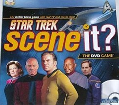 Star Trek Scene It Game With DVD Trivia Questions Space - $26.58