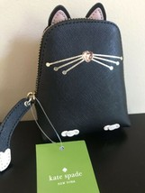 Kate Spade New York Jazz Things Up Cat BLACK Coin Change Purse NWT - $77.22