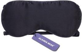 ALASKA BEAR Natural silk sleep mask and blindfold, super-smooth eye mask... - $19.19 CAD