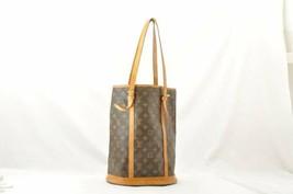 LOUIS VUITTON Monogram Bucket GM Shoulder Bag M42236 LV Auth oh040 **Sticky - $210.00