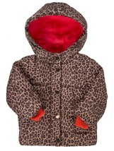 CARTER'S GIRLS ANIMAL PRINT CHEETAH WINTER COAT JACKET SIZE 18 MONTHS $7... - $24.74
