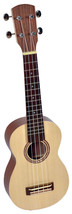 Walnut soprano ukulele with soft bag, made by Hora Europe - $73.00