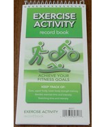 Exercise Activity Record Book - Achieve Your Fitness Goals - BRAND NEW - $5.93