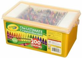 Crayola Ultimate Crayon Bucket 200 Crayons - $29.99
