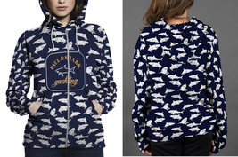 Paul & Shark Yachting Hoodie Fullprint Zipper Women - $49.99+