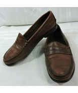 Vintage Sebago Penny Loafers Women's size 10 M Brown BUTTER SOFT Leather... - $41.80