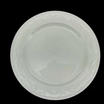 """White Embossed Dinner Plates Mesa International ~ 12"""" (4 plates) - $56.10"""