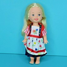 Barbie Kelly Dolls Of The World The Netherlands Holland Doll Dress No Shoes 2002 - $14.95