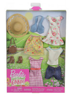 *NEW* Barbie Sweet Orchard Farm Doll Clothes Spring Summer Toy - SHIPS F... - $13.36
