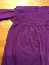 Arizona Girl's Purple Halter Top Shirt / Blouse Size: Medium image 4