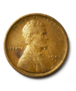 1909 S 1c Wheat One Cent Penny San Francisco Rare Key Date - €105,10 EUR