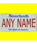Ride-on battery power wheels car license plate - custom Massachusetts de... - $8.99