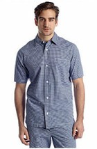NWT Saddlebred  XL Yarn Dyed Gingham Checks Pajama  Lounge Camp Shirt  $... - $8.59