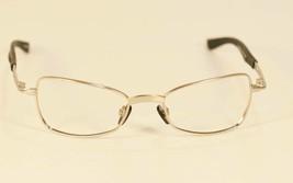 Fossil SHOCK Brush Silver Metal Eyeglass Frames Designer Style Rx Eyewear - $9.12
