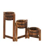 Country Barrels Planter Trio - $75.39