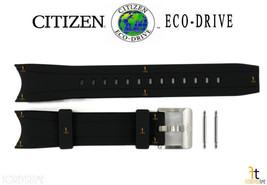Citizen Eco-Drive Promaster BN0088-03E Black Rubber Watch Band BJ7065-06E w/Pins - $92.95