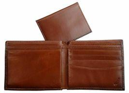 Nautica Men's Premium Leather Credit Card Id Wallet Billfold Tan 31Nu22X023 image 7