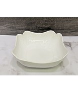 Meissen Porcelain Mid Century Mod White Square Bowl Ludwig Zepner Weiss ... - $93.06