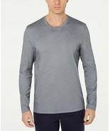 Tasso Elba Mens Supima Blend Crewneck Long-Sleeve T-Shirt Size XL - £11.53 GBP