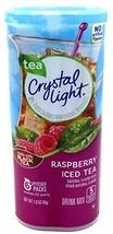 Crystal Light Raspberry Iced Tea, 12-Quart 1.6-Ounce Canister Pack Of 2