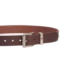 Tommy Hilfiger Men's Premium Logo Casual 35MM Solid Leather Belt 11TL02XZ50 image 5
