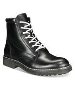INC International Concepts Men's Ivan Lace-Up Boots (Black, 7) - $104.47