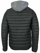 Maximos Men's Slim Fit Lightweight Zip Insulated Packable Puffer Hooded Jacket image 15