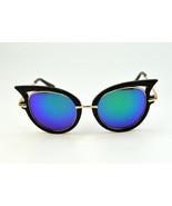Retro Chic Cat Eye Mirror Sunglasses - $65.00