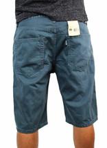 Levi's 508 Men's Premium Cotton Regular Taper Shorts Straight Fit Blue image 2