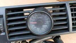 03-05 Audi A4 S4 Dash Air Vent Turbo Boost Gauge Pod image 3