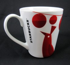 Starbucks Coffee Company Red Bird Ceramic Mug Cup Holiday Ornaments 2012 - $19.99