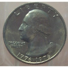 1976 Washington Quarter MS65 In the Cello #230 - $5.34