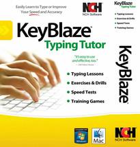 NCH Keyblaze Typing Tutor Software | Windows PC, Mac OSX - $14.99