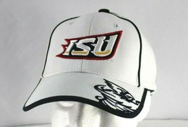 Iowa State Cyclones White/Black Baseball Cap Adjustable - $23.99