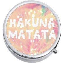 Hakuna Matata Medicine Vitamin Compact Pill Box - $9.78