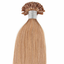 """18"""" 100grs,100s,U Tip (Nail Tip)Fusion Remy Human Hair Extensions 27 Strawberry - $98.99"""