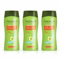 Trichup Hair Fall Control Herbal Hair Shampoo, 200 ml (Pack of 3) - $24.30