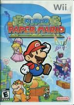 Super Paper Mario (Nintendo Wii, 2007) - Complete - $14.84