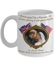 Prince Harry And Meghan Markle Commemorative Royal Wedding Coffee Mug - $14.84+