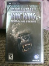 Peter Jackson's King Kong: The Official Game (Sony PSP, 2005) Complete MINT CIB - $14.84