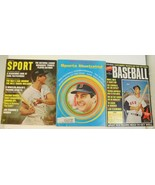 Lot of 3 Carl Yastrzemski Boston Red Sox Sports Magazines 1960's - $15.88