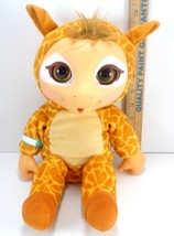 "Jakks Pacific Animal Babies GIRAFFE Interactive Plush 15"" Thumb Sucker Baby - $15.83"