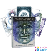 PORTALS OF PRESENCE CARDS AND AUDIO US GAMES SYSTEMS DECK KOFF CHAPIN RE... - $46.42