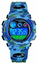 Tonnier Watch Kids Sports Watch Multi Function Digital Watches Colorful ... - $20.86