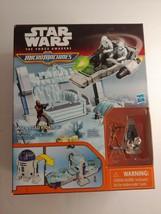 Star Wars Force Awakens Micro Machines R2-D2 Playset Chewbacca Figurine Crossbow - $14.85