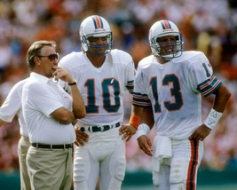 DAN MARINO DON SHULA  & DON STROCK 8X10 PHOTO MIAMI DOLPHINS PICTURE NFL - $3.95