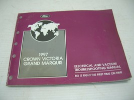 1997 Ford Crown Victoria Grand Marquis Wiring Diagram Electrical Manual  - $12.86