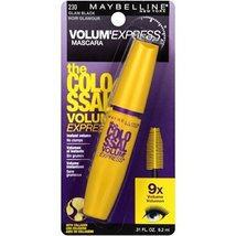 Maybelline New York the Colossal Volum' Express Mascara, Glam Black 230 - $7.83